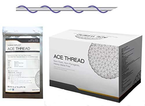 ACE PDO thread lift KOREA - Mono Screw Type (400pcs) - 12 sizes (27G90)