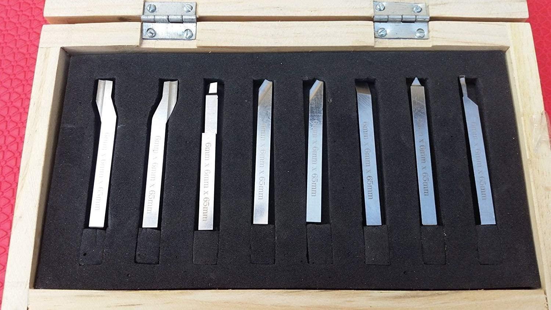 HSS Lathe Form Tools Set 12 mm Square Shank - Metalworking Turning Threading Engineering Tools