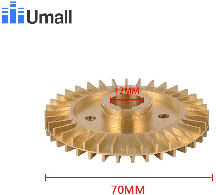 Pumps, Parts & Accessories QB70 Brass Cooper Self Priming Booster Impeller Electric Jet Centrifuge Assembly Motor Engine Kit 0.75hp Water Pumps Impellers - (Color: QB65 65MM)