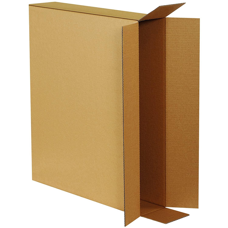Aviditi 28524FOLMS Side Loading Moving Boxes, 28