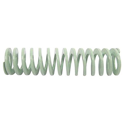 Die Spring, Ultra Light Duty, Closed & Ground Ends, Light Green, 20mm Hole Diameter, 10mm Rod Diameter, 32mm Free Length, 22.6 newtons Spring Rate (Pack of 10)