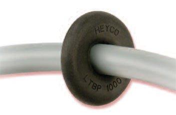 HEYCO C2016 LTBP 750-063 BLACK LIQUID TIGHT BREAK THRU PLUG .750 HOLE (500 / CARTON QTY)