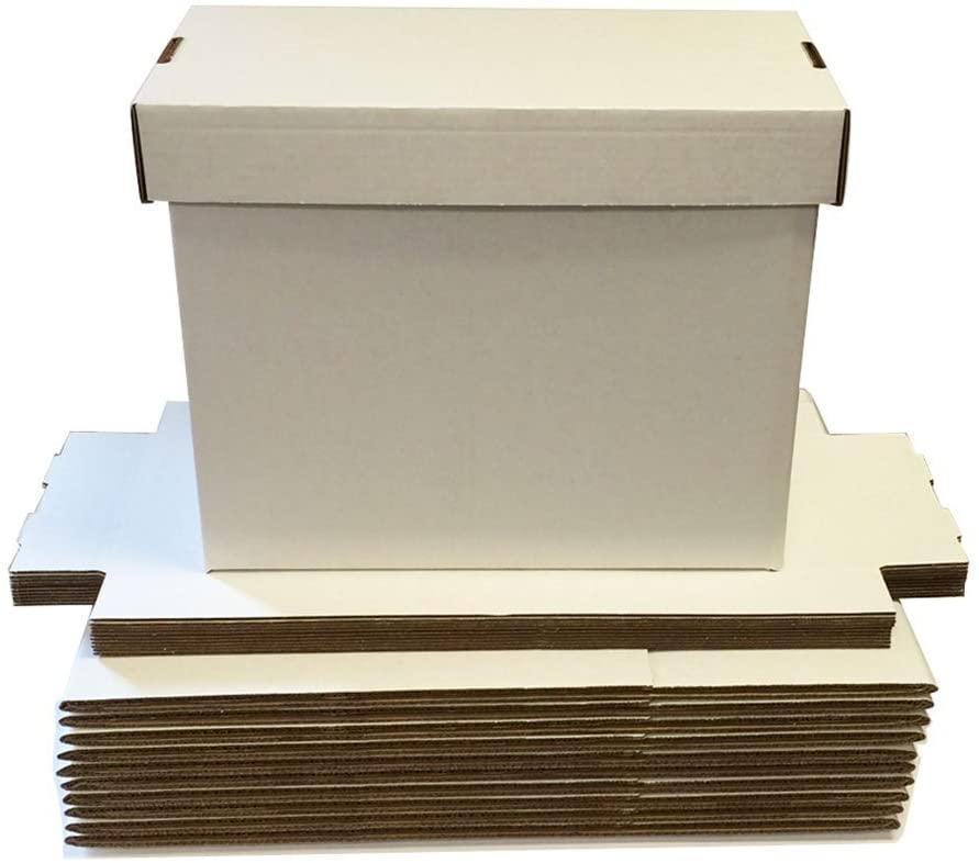 (1) SHORT Comic Storage Box - Holds 150 - 175 Comic Books - Brilliant White