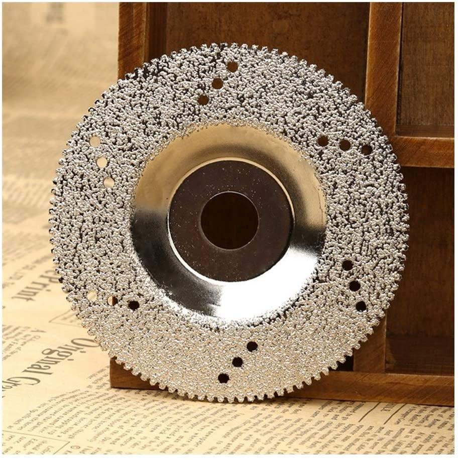 Diamond Cutting Disc 100mm Diamond Grinding Wheel Disc Diamond Cutting Disc Saw Blade for Dremel Rotary Tool Cuttter for Marble Concrete Porcelain Cut