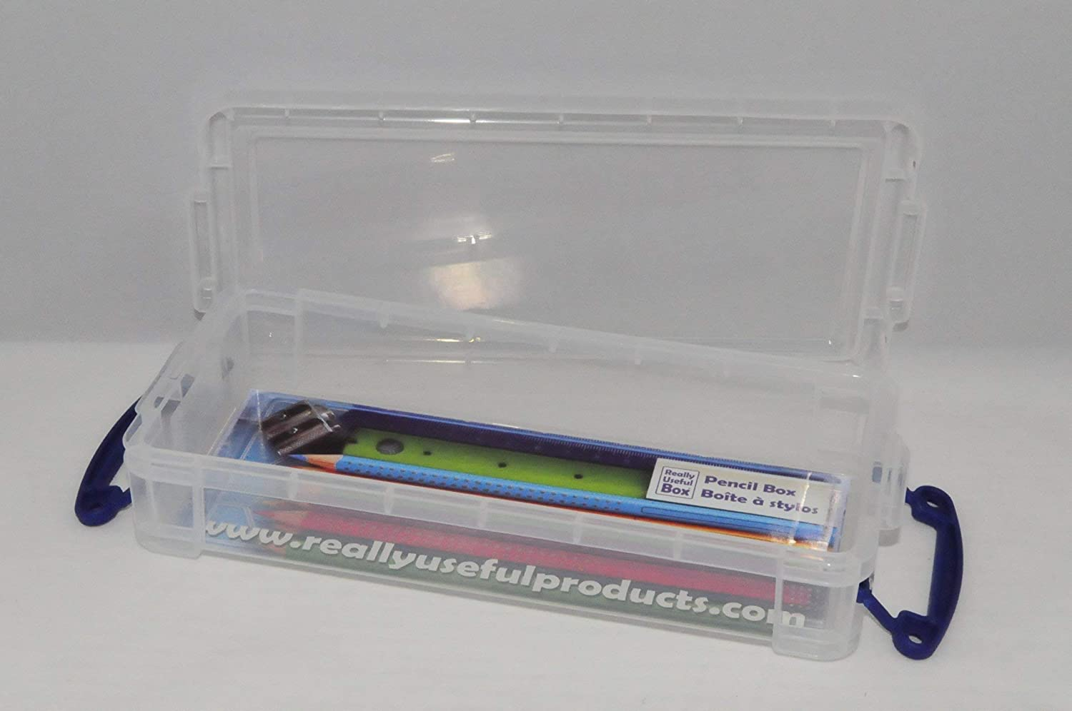 STORAGE BOX CLR .55LITRE