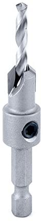Amana Tool - (55269) Carbide Tipped 82° Countersink 3/8 Dia x 49 Deg x 1/4 Quick Release Hex Shank For Wood Screw #12-14