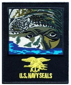 U.S. NAVY SEALS - 4-1/8 x 5 - Emblem