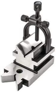 All Angle Hardened Steel Tool Makers Vee V Block & Clamp Set - Multi Use Engineering Block Hard & Precision Ground