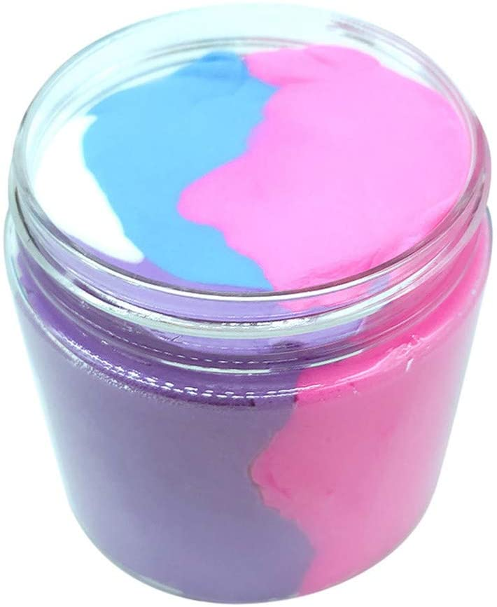 Wenini Cotton Mud Slime - 100ML Beautiful Color Mixing Cloud Slime Putty Scented Stress Kids Clay Toy (Multicolor)
