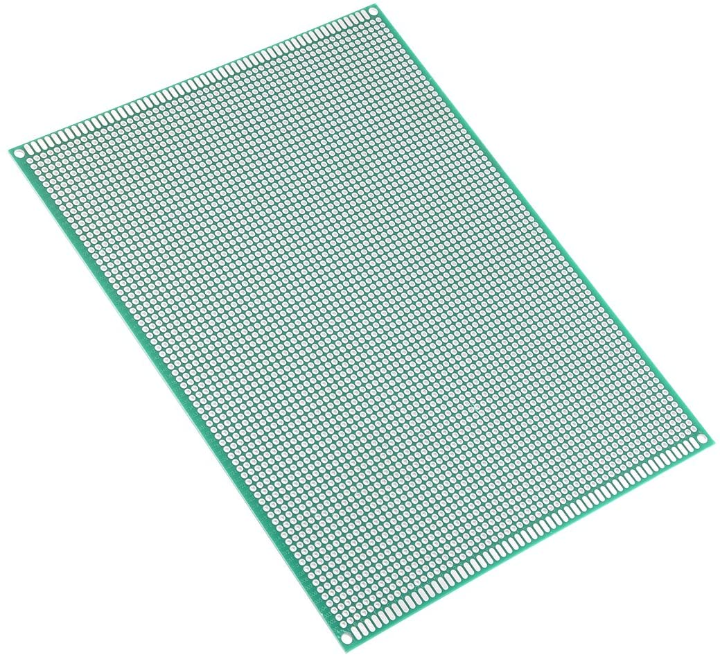 uxcell 15x20cm Double Sided Universal Printed Circuit Board for DIY Soldering
