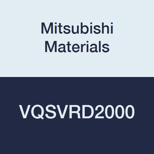 Mitsubishi Materials VQSVRD2000 VQSVR Series Carbide Smart Miracle End Mill, Short, 4 Irregular Helix Flutes, Roughing, 20 mm Cut Dia, 0.5 mm Corner Radius, 20 mm Shank Dia, 38 mm LOC