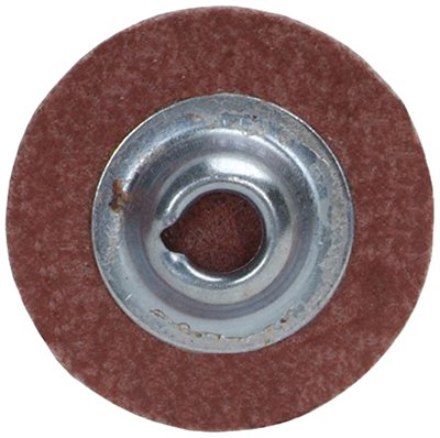 Norton Speed-Lok Cloth Abrasive Disc, Polyester Backing, TS (Type II), Aluminum Oxide, 3 Diameter, 40 Grit (Pack of 5)