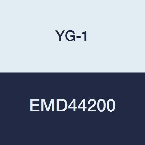YG-1 EMD44200 Carbide V7 Mill Steel Corner Radius End Mill, 4 Flute, Multiple Helix, Short Length, 92 mm Length, 20.0 mm