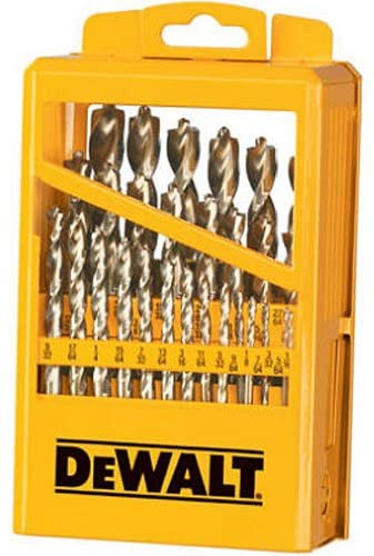 DEWALT Drill Bit Set with Metal Index, 29-Piece (DW1969)
