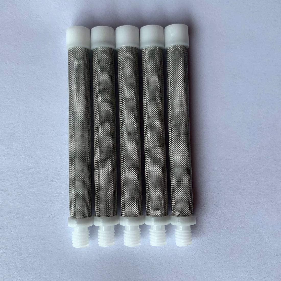 Titan Airless Spray Gun Filter 500-200-06 for Titan LX80II, Titan LX80, 60 Mesh White. 5PACKS