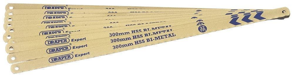Draper Expert 10 X 300Mm 32Tpi Bi-Metal Hacksaw Blades