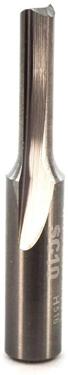 Whiteside Router Bits SC10 Standard Straight Bit with Solid Carbide 5/32-Inch Cutting Diameter and 5/8-Inch Cutting Length