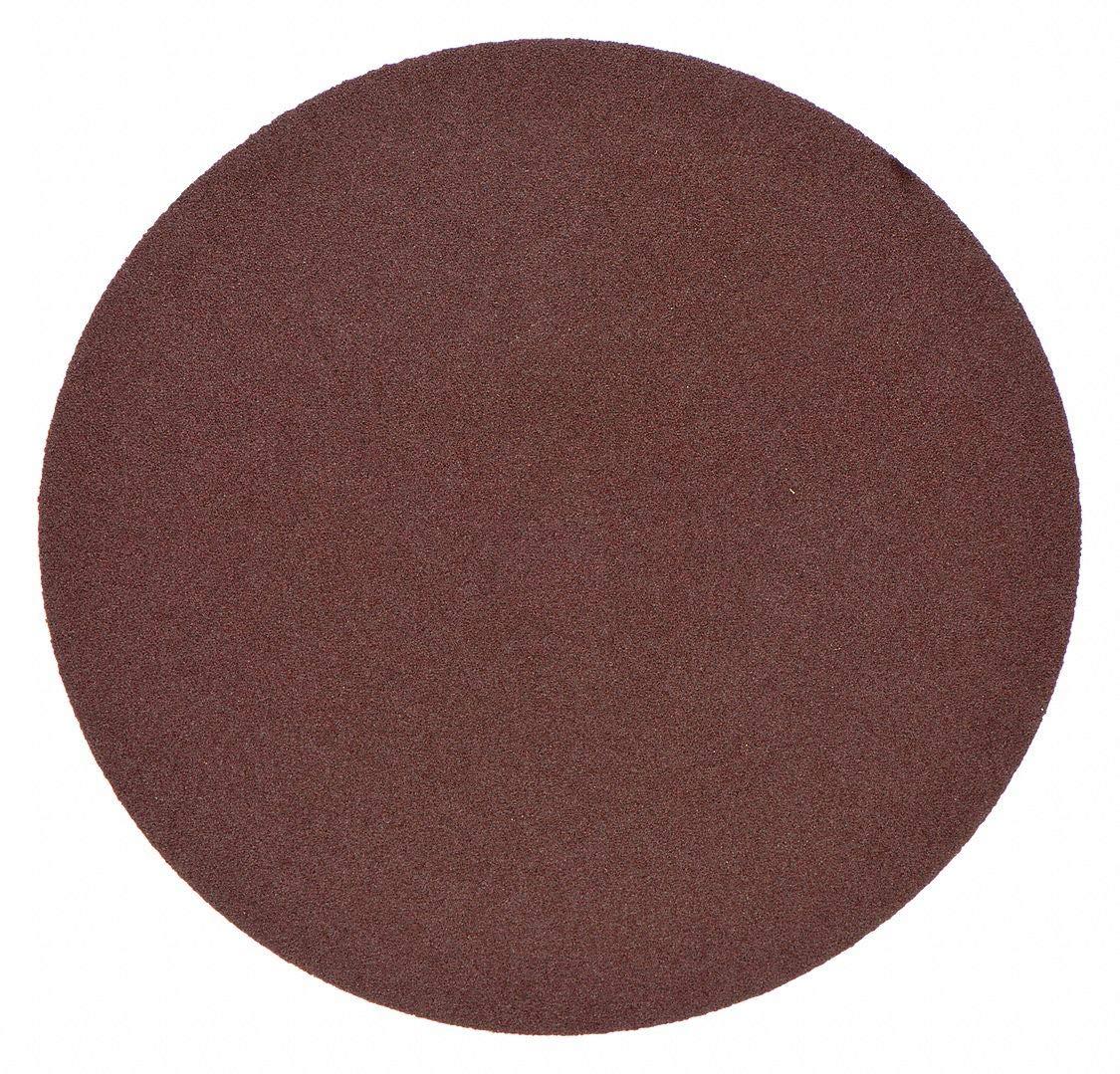 PSA Sanding Disc, AlO, Cloth, 3in, 100 Grit