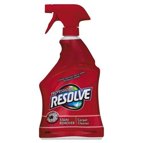 Professional RESOLVE Carpet Cleaner, 12 32 oz Spray Bottles/Carton