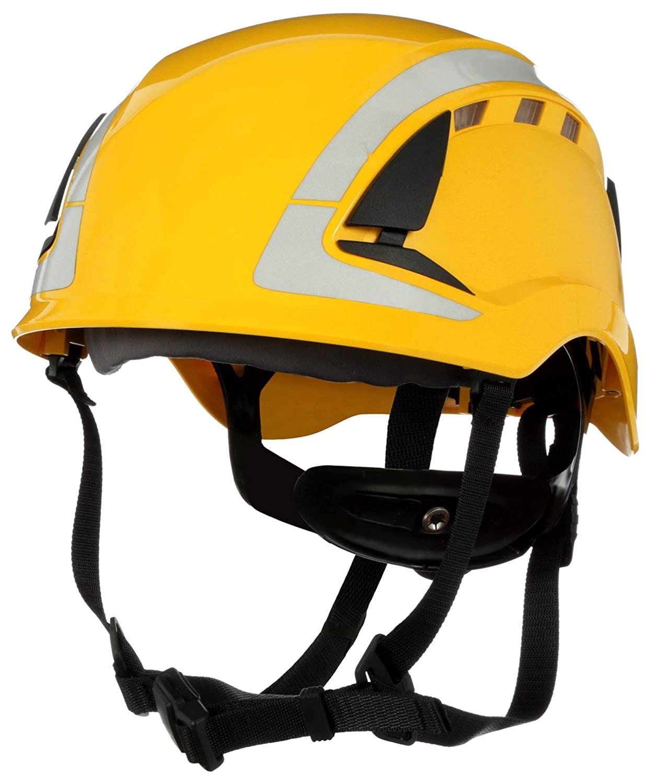 3M SecureFit Safety Helmet, X5002VX-ANSI, Yellow, Vented