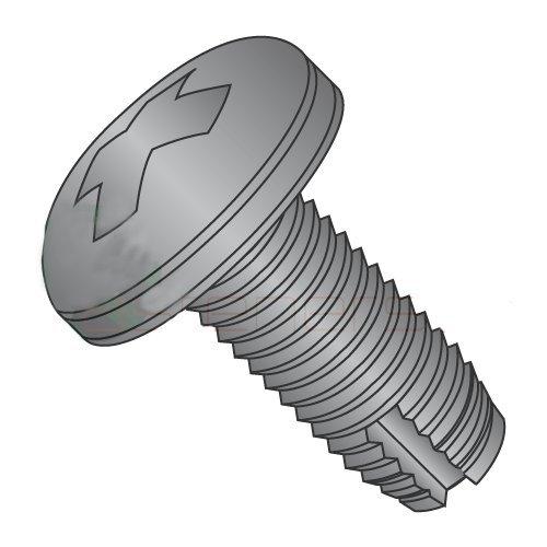 10-24 x 5/8 Type 1 Thread Cutting Screws/Phillips/Pan Head/Steel/Black Oxide (Carton: 7,000 pcs)
