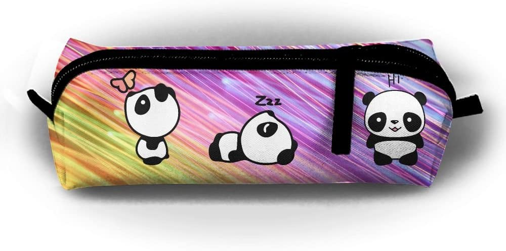 Huitong Shengshi HTSS Panda 16 Pencil-Box Pouch Pencil Holders Pencil Pen Casewith Zipper Stationery Bag Sewing Kit