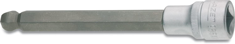 Hazet 986KK-7 Size 7 Hexagon Ballhead Long Screwdriver Socket