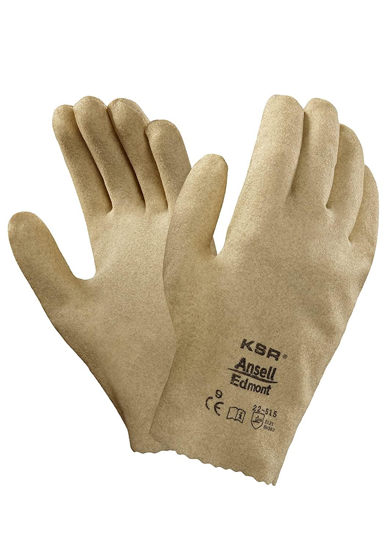 Ansell KSR 22515 Vinyl Coated Interlock Knit Lined General Use Gloves