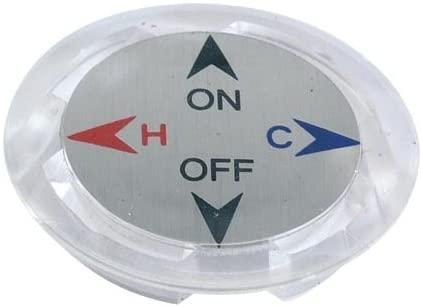Ez-Flo 32135 Acrylic Index Button
