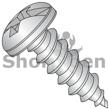 6-18X1 Combination (Slot/Phil) Pan Self Tap Screw Type A Full Thread 18 8 Stainless Ste - Box Quantity 4500 by Shorpioen BC-0616ACP188