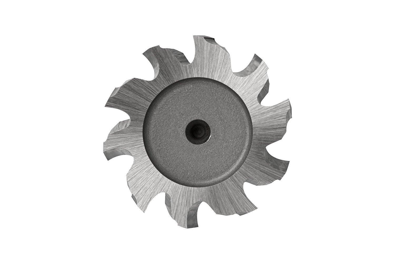 Dormer C82216.5X5.0 Cobalt High Speed Steel Shank Woodruff Cutter, Bright Coating, Cobalt High Speed Steel, 5 mm Plug Chamfer, 16.5 mm Head Diameter, 56 mm Full Length, 16.5