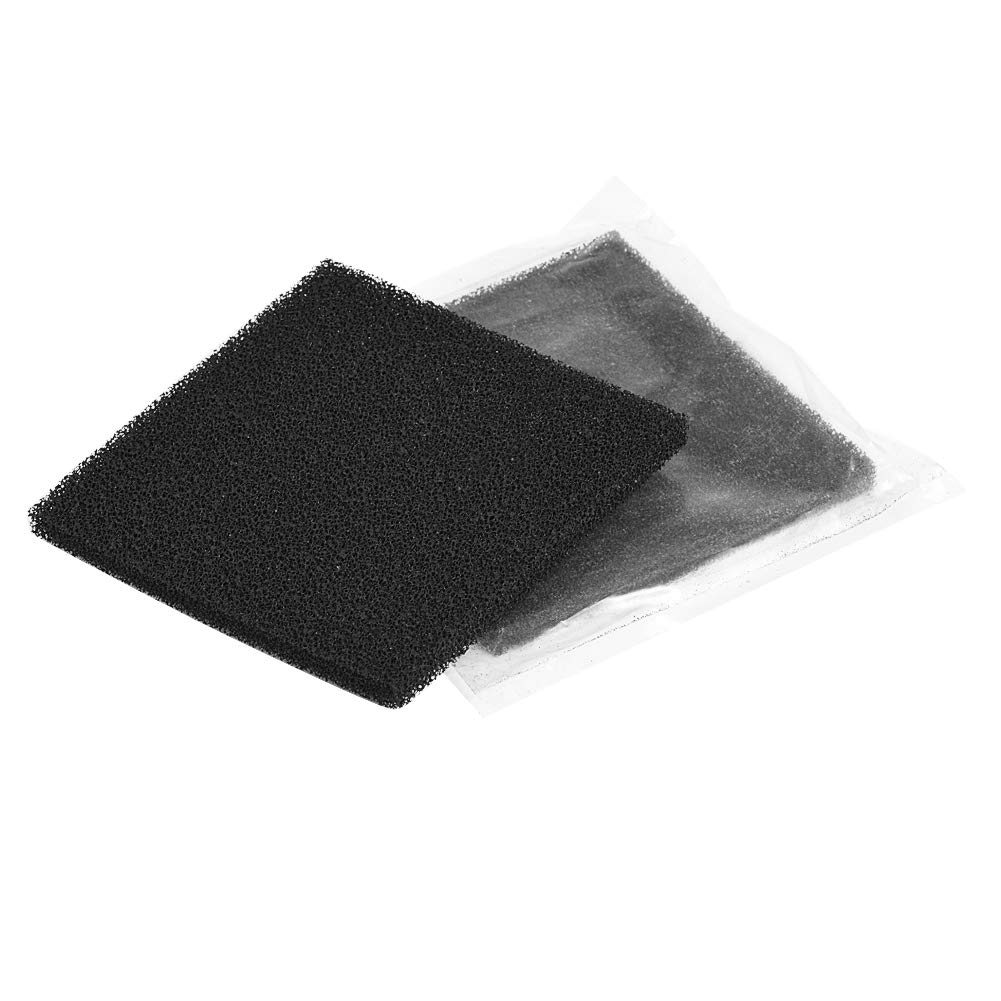 FTVOGUE 10pcs Activated Carbon Filters 13cm x 13cm for Soldering Smoke Absorber Fume Extractor