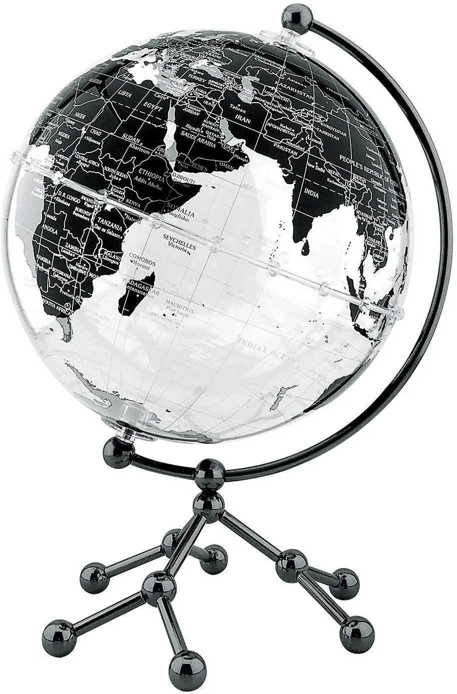 World Globe Acrylic Transparent Decorative 8