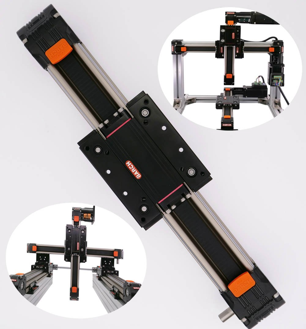 XY Linear Stage 1000mm CNC kit