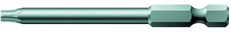 Wera Series 4 867/4 Z Sheet Metal Bit, TORX Bore Hole TX 25 x 89mm Blade, 1/4