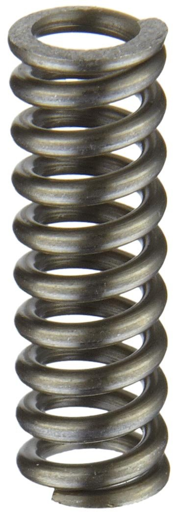 Music Wire Compression Spring, Steel, Inch, 0.3