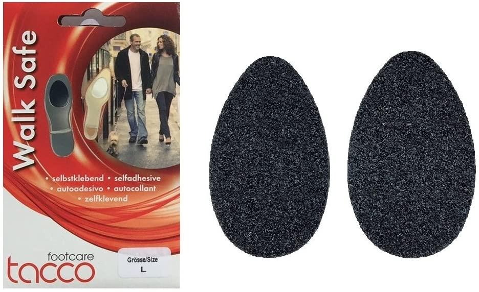 Tacco Large Non Skid & Slip Shoe Pads. Traction to Prevent Shoe Slip & Sliding. Size Men (9-12 EU 42-46)