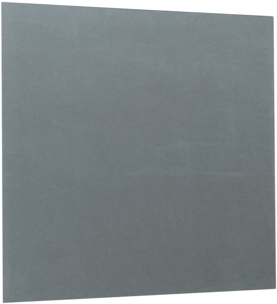 Spaceright Europe 120 x 120 cm Flame Shield Unframed Noticeboard - Grey