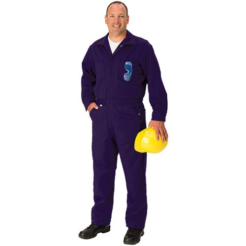 TOPPS SAFETY CO25-3805-Reg/56 Indura Ultra Soft Coverall, 9 oz, 56