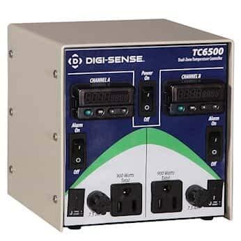 Digi-Sense 2-Zone Temperature Controller; RTD, 120V/15A