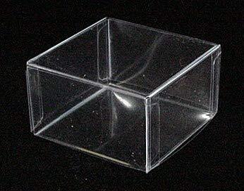 10x Clear Square Favor Box (2 1/4