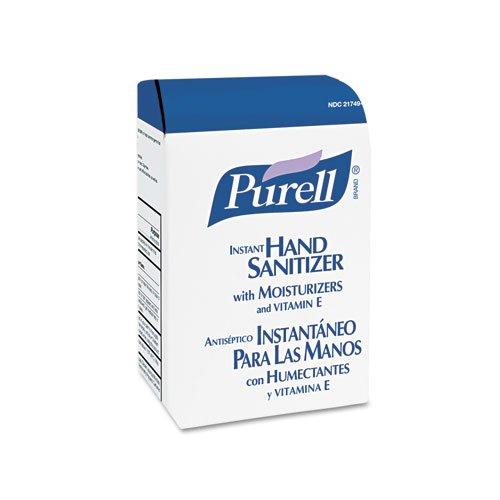 PURELL Advanced Instant Hand Sanitizer NXT Refill, 1000-ml Bag - eight refill bags.
