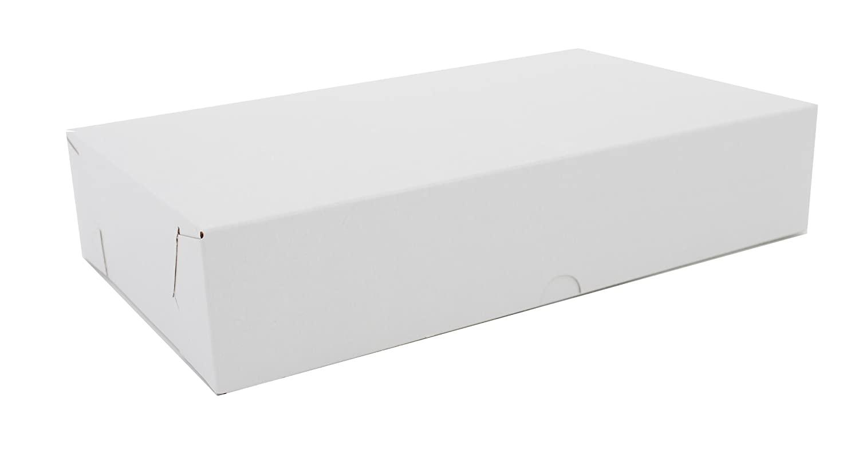 Southern Champion Tray 1701 Clay Coated Kraft Paperboard Lock Corner 2-Piece Sausage Box, 12-1/8