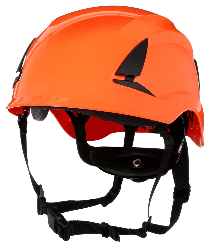 3M SecureFit Safety Helmet, X5007-ANSI, Orange