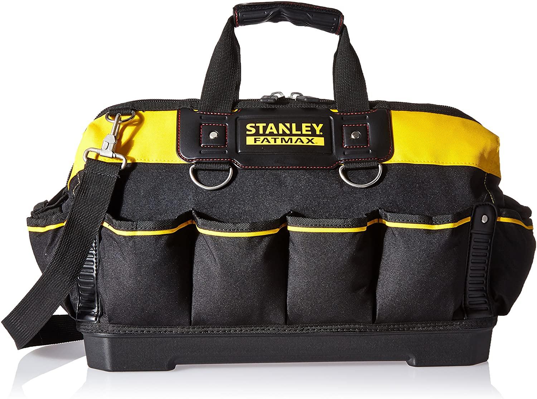 Stanley 518150M FatMax 18-inch Tool Bag,Black & Gray & Red