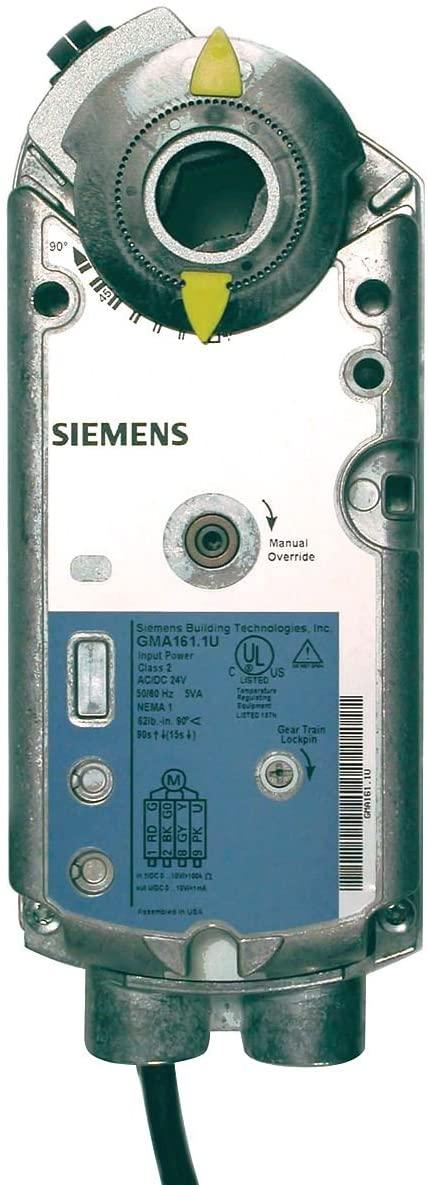 Siemens GMA126.1P Actuator, 2P,SR,PLENUM