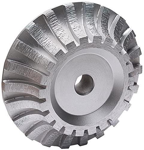 MK Diamond 166021 30/40 Grit Segmented Profile Wheel, DX 90 Degree Square