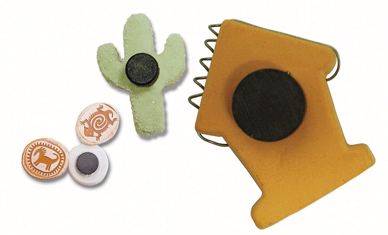 Master Magnetics Ceramic Disc Magnets - 6-Pc. Set, Model Number 07004