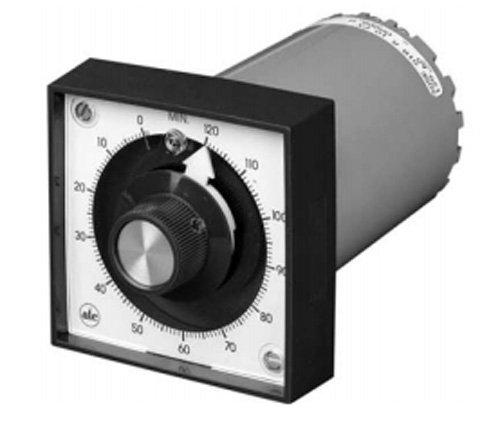 ATC 305E-168-C-1-0-PX Electromechanical Motor Driven Analog Reset Timer, 7 minutes, 120/50V Frequency, ON-Delay, Knob Setting, Basic Plug-In Timer/Standard Unit