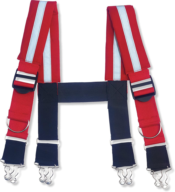 Ergodyne Arsenal 5093 Quick Adjust Suspenders-Reflective,30-Inch